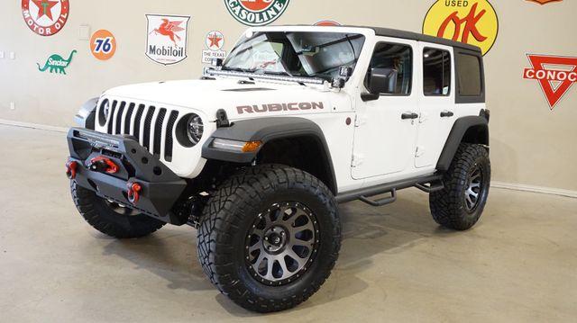 2018 Jeep Wrangler JL Unlimited Rubicon 4X4 CUSTOM,LIFTED,NAV,HTD LTH,LED'S!