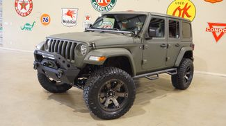 2018 Jeep Wrangler JL Unlimited Sport 4X4 CUSTOM,LIFTED,HTD LTH,LED'S,FUEL WHLS in Carrollton TX, 75006