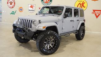 2018 Jeep Wrangler JL Unlimited Sport 4X4 CUSTOM,LIFTED,HTD LTH,LED'S,FUEL WHLS in Carrollton, TX 75006