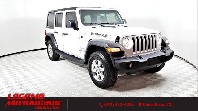 2018 Jeep All-New Wrangler Unlimited Sport in Carrollton, TX 75006