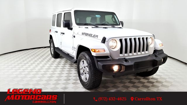 2018 Jeep All-New Wrangler Unlimited Sport