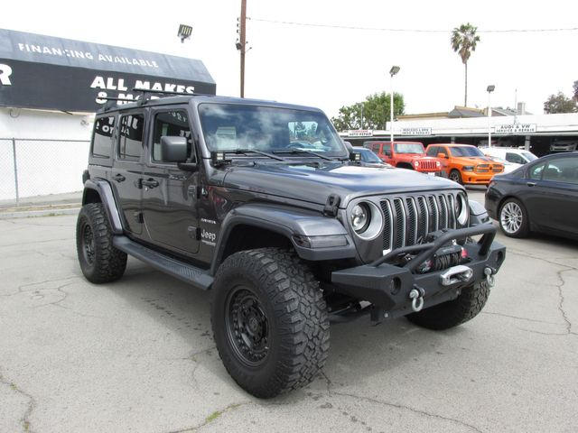 2018 Jeep All-New Wrangler Unlimited Sahara in Costa Mesa, California 92627