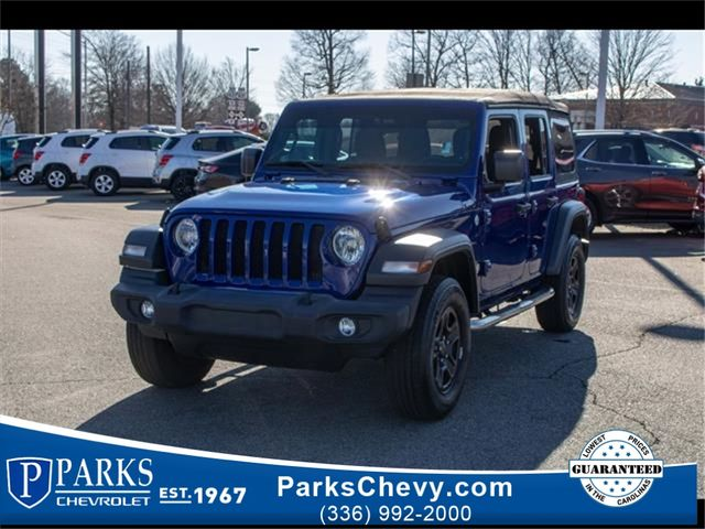 2018 Jeep All-New Wrangler Unlimited Sport in Kernersville, NC 27284
