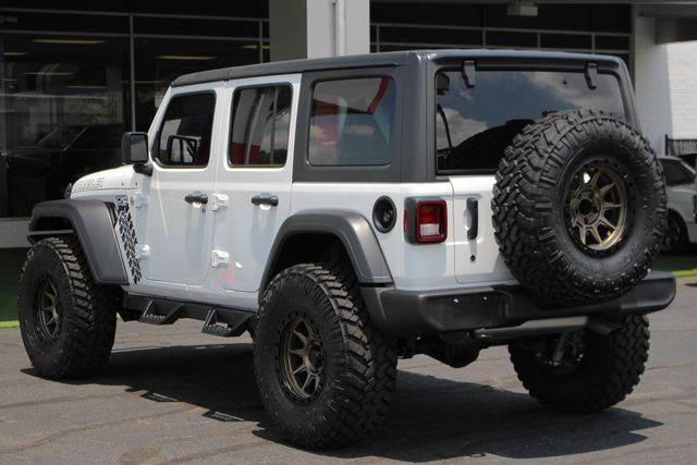 2018 Jeep All-New Wrangler Unlimited Sport S 4x4 - LIFTED CAD OFF-ROAD EDITION! Mooresville , NC 27