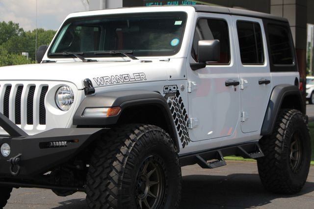 2018 Jeep All-New Wrangler Unlimited Sport S 4x4 - LIFTED CAD OFF-ROAD EDITION! Mooresville , NC 29