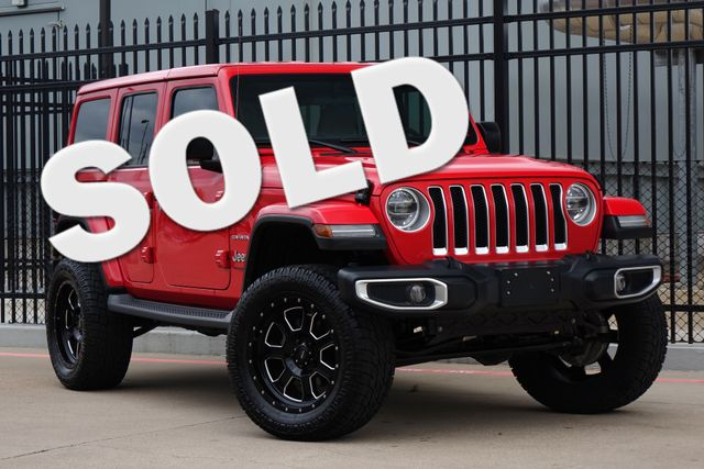 2018 Jeep All-New Wrangler Unlimited Sahara * 6k Miles * LIFTED * Cold Weather * LED's Plano, Texas