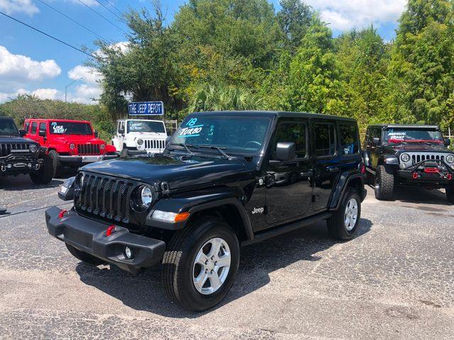 2018 Jeep All-New Wrangler Unlimited Sport S in Riverview, FL 33578