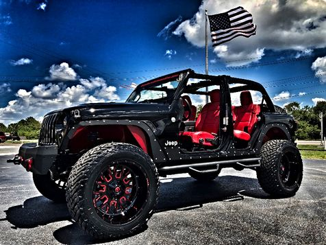 2018 Jeep All-New Wrangler Unlimited JL OCD FENDER DELETE CHERRY-BOMB RED in , Florida