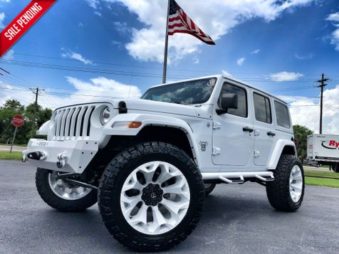 2018 Jeep All-New Wrangler Unlimited WHITE OUT CUSTOM LIFTED LEATHER OCD 37' NITTOs in , Florida
