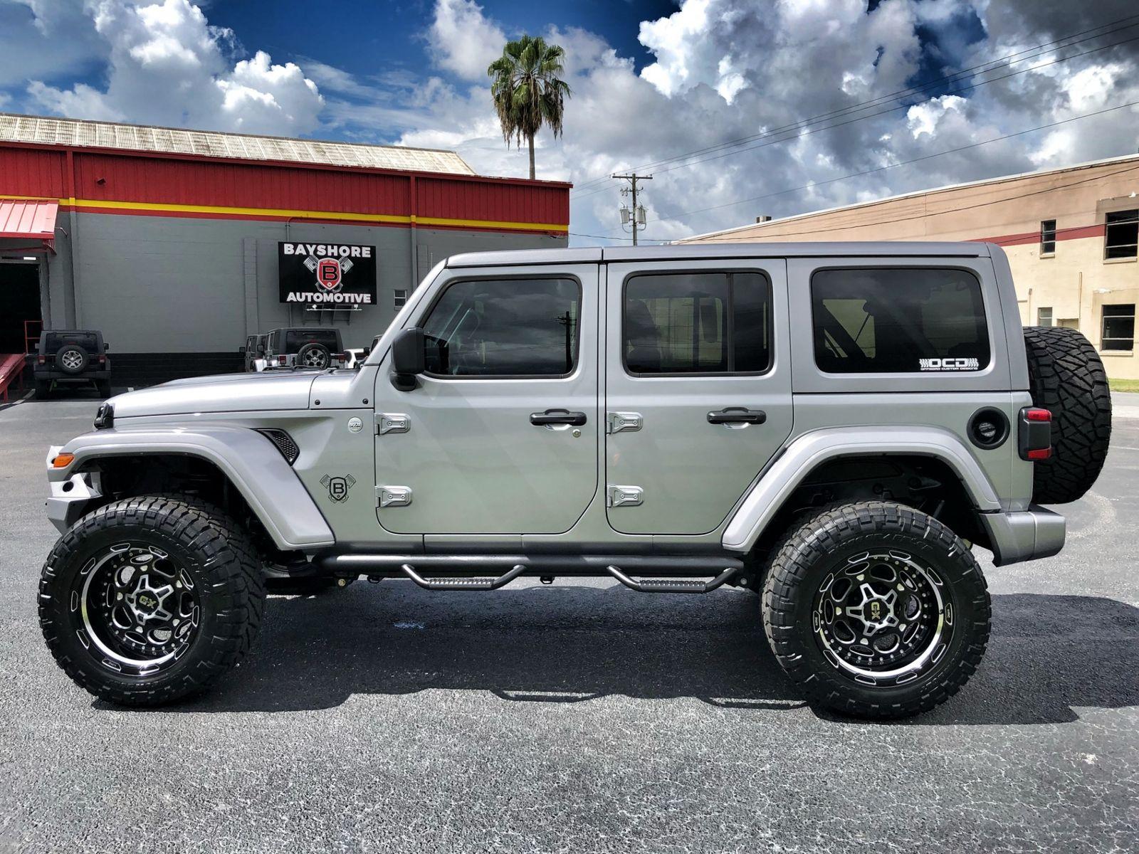 2018 jeep all new wrangler unlimited jl custom lifted leather hardtop evo 35s ocd florida. Black Bedroom Furniture Sets. Home Design Ideas