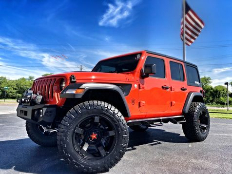 2018 Jeep All-New Wrangler Unlimited PUNKN SPORT S CUSTOM LEATHER HARDTOP LOADED in , Florida