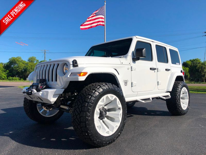 White Jeep Lifted >> 2018 Jeep All New Wrangler Unlimited Jl White Out Custom Lifted