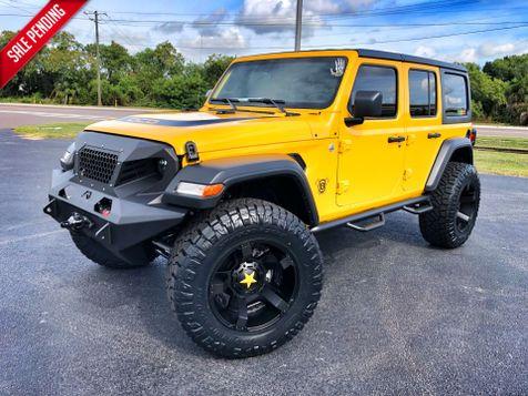 2018 Jeep All-New Wrangler Unlimited HELLAYELLA CUSTOM LIFTED LEATHER HARDTOP DV8 OCD in , Florida