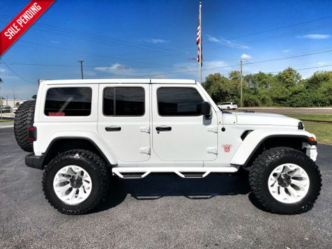 2018 Jeep All-New Wrangler Unlimited HITE AND RED SAHARA CUSTOM LIFTED LEATHER in , Florida