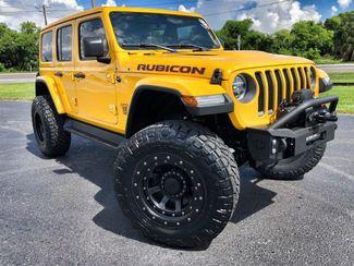 2018 Jeep All-New Wrangler Unlimited RUBICON HELLAYELLA LITFED LEATHER NAV 38 NITTOs   Florida  Bayshore Automotive   in , Florida
