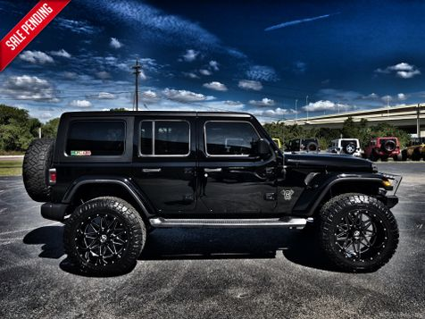 2018 Jeep All-New Wrangler Unlimited JL CUSTOM BLACKED OUT SAHARA LIFTED 37