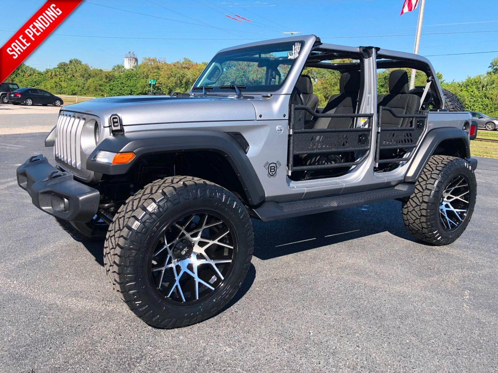 2018 Jeep All New Wrangler Unlimited Custom Lifted 24s Xd Chopsticks