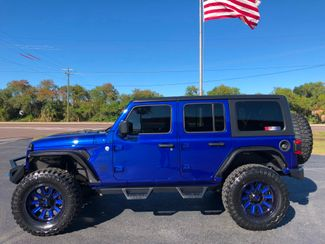 2018 Jeep All-New Wrangler Unlimited OCEAN BLUE CUSTOM LIFTED LEATHER HARDTOP   Florida  Bayshore Automotive   in , Florida