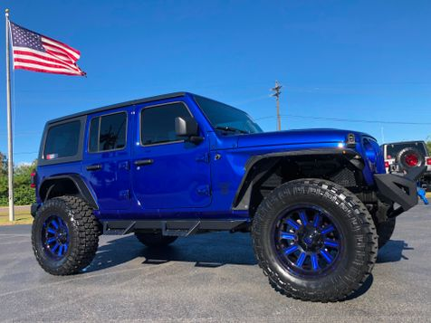2018 Jeep All-New Wrangler Unlimited OCEAN BLUE CUSTOM LIFTED LEATHER HARDTOP in , Florida