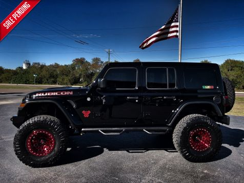 2018 Jeep All-New Wrangler Unlimited RUBICON BLACK WIDOW 6 SPEED LEATHER NAV 37