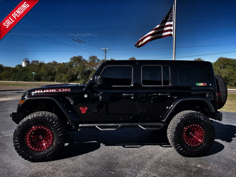 2018 Jeep All New Wrangler Unlimited Rubicon Black Widow 6 Speed