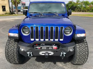 2018 Jeep All-New Wrangler Unlimited OCEAN BLUE JL SAHARA LIFTED LEATHER HARDTOP   Florida  Bayshore Automotive   in , Florida