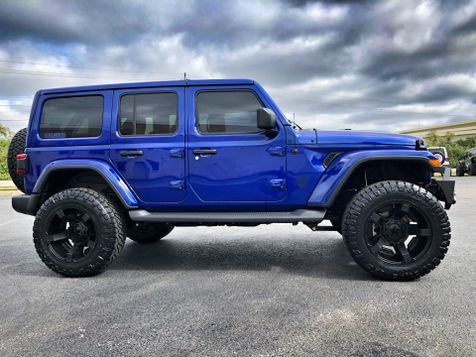 2018 Jeep All-New Wrangler Unlimited OCEAN BLUE JL SAHARA LIFTED LEATHER HARDTOP in , Florida