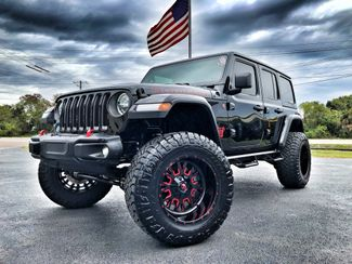 2018 Jeep All-New Wrangler Unlimited RUBICON BLACKOUT LIFTED LEATHER HARDTOP 37s   Florida  Bayshore Automotive   in , Florida