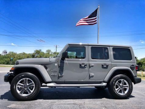2018 Jeep All-New Wrangler Unlimited JL SAHARA STINGRAY GREY COLOR HARDTOP NAV in , Florida