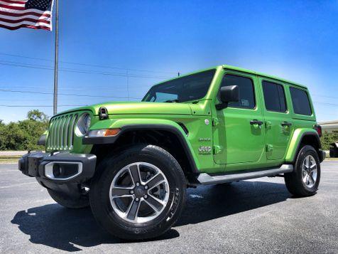 2018 Jeep All-New Wrangler Unlimited JL SAHARA MOJITO COLORED HARDTOP NAV ALPINE in , Florida