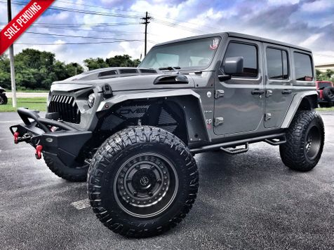 2018 Jeep All-New Wrangler Unlimited SAHARA CUSTOM LIFTED LEATHER NAV in , Florida