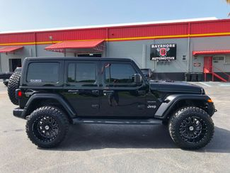 2018 Jeep All-New Wrangler Unlimited CUSTOM BLACKOUT SAHARA LEATHER HARDTOP 35s   Florida  Bayshore Automotive   in , Florida