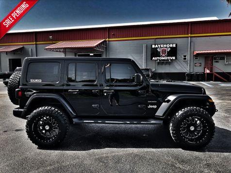 2018 Jeep All-New Wrangler Unlimited CUSTOM BLACKOUT SAHARA LEATHER HARDTOP 35