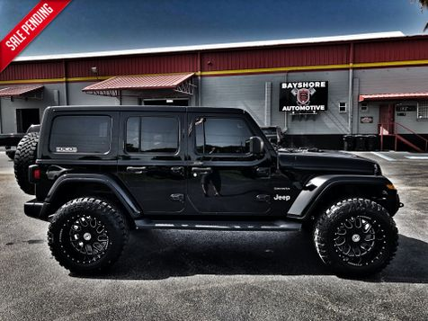 2018 Jeep All-New Wrangler Unlimited CUSTOM BLACKOUT SAHARA LEATHER HARDTOP 35