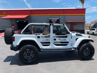2018 Jeep All-New Wrangler Unlimited JL SAHARA CUSTOM LIFTED LEATHER NAV 35s   Florida  Bayshore Automotive   in , Florida