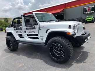 2018 Jeep All-New Wrangler Unlimited SAHARA CUSTOM LEATHER HARDTOP XD OCD NAV   Florida  Bayshore Automotive   in , Florida