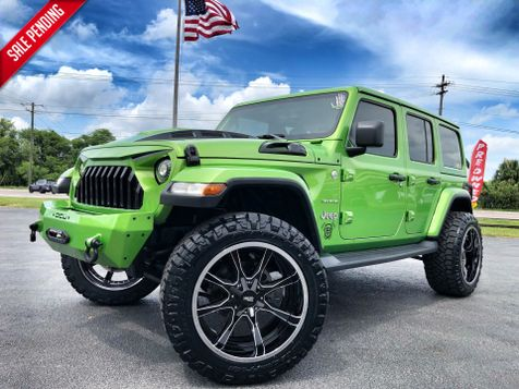 2018 Jeep All-New Wrangler Unlimited CUSTOM LIFTED SAHARA LEATHER HARDTOP in , Florida