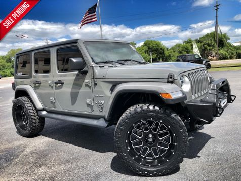 2018 Jeep All-New Wrangler Unlimited STINGRAY SAHARA LIFTED LEATHER NAV ALPINE in , Florida