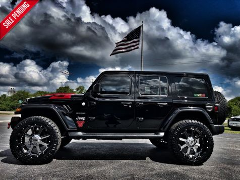2018 Jeep All-New Wrangler Unlimited BLACK WIDOW SAHARA LIUFTED LEATHER NAV OCD in , Florida