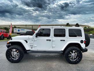 2018 Jeep All-New Wrangler Unlimited CUSTOM LIFTED SAHARA LEATHER HARDTOP NAV  Plant City Florida  Bayshore Automotive   in Plant City, Florida