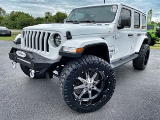 2018 Jeep All-New Wrangler Unlimited CUSTOM LIFTED SAHARA LEATHER HARDTOP NAV   Florida  Bayshore Automotive   in , Florida