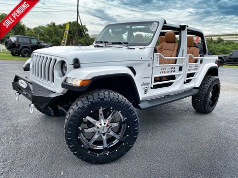 2018 Jeep All-New Wrangler Unlimited CUSTOM LIFTED SAHARA LEATHER HARDTOP NAV in Plant City, Florida