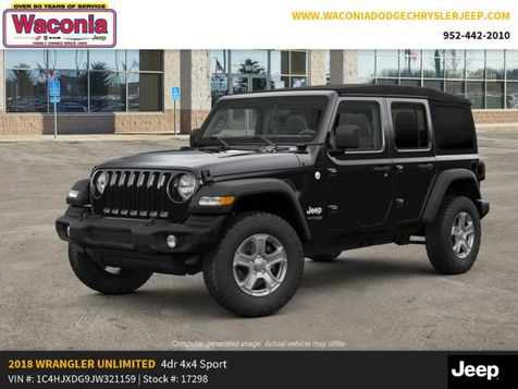 2018 Jeep All-New Wrangler Unlimited Sport S in Victoria, MN