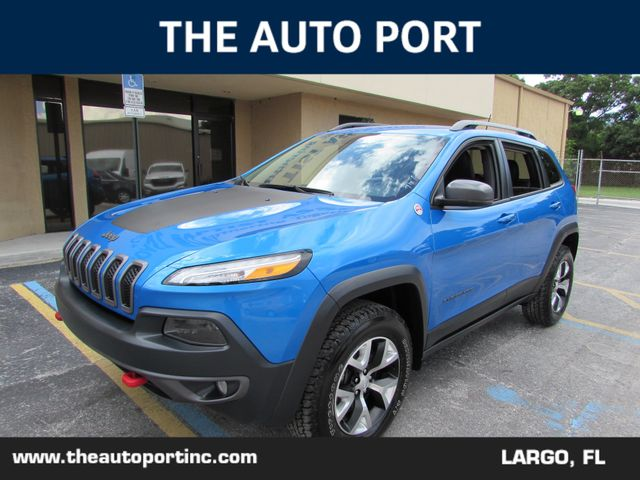2018 Jeep Cherokee Trailhawk 4X4 in Clearwater Florida, 33773