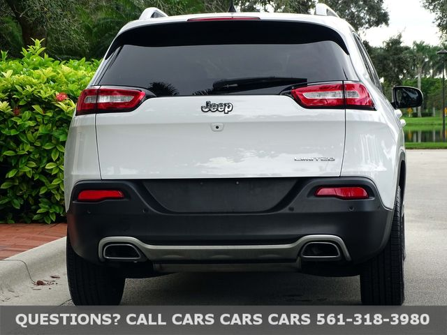 2018 Jeep Cherokee Limited in West Palm Beach, Florida 33411
