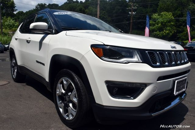 2018 Jeep Compass Limited Waterbury, Connecticut 9