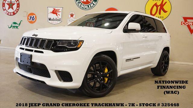 2018 Jeep Grand Cherokee Trackhawk MSRP 92K,PANO ROOF,NAV,HTD/COOL LTH,7K in Carrollton, TX 75006