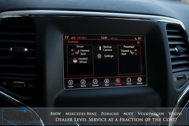 2018 Jeep Grand Cherokee Limited 4x4 w/Heated Seats, Apple CarPlay, Bluetooth, Moonroof & Keyless Start in Eau Claire, Wisconsin 54703