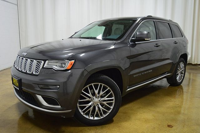 2018 Jeep Grand Cherokee Summit Laguna Leather