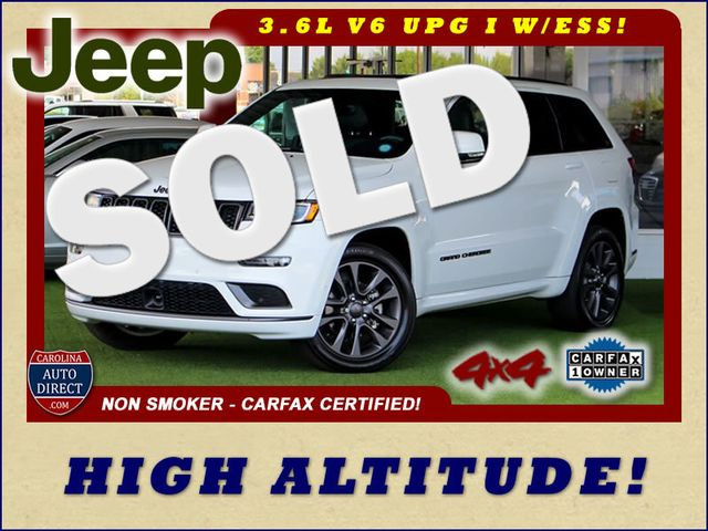 2018 Jeep Grand Cherokee High Altitude 4X4- NAV- DUAL SUNROOFS- MUCH MORE! Mooresville , NC 0